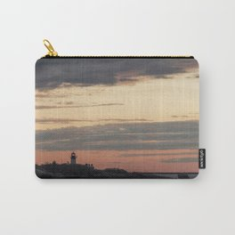 Painted sky over ten pound island light Carry-All Pouch