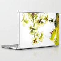clover Laptop & iPad Skins featuring Clover by Ekaterina Koroleva