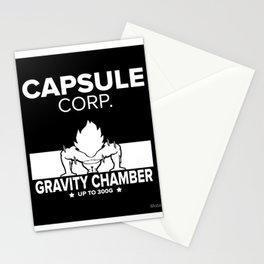 Gym Saiyan Stationery Cards