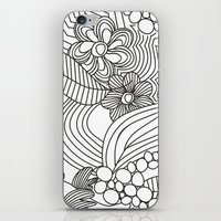 sketch iPhone & iPod Skins featuring sketch by Natasha79