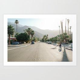 Palm Springs Road Art Print