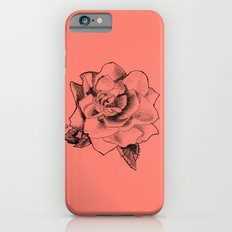 Rose on Rose Slim Case iPhone 6s