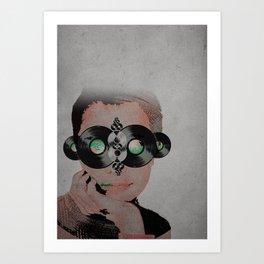 Eyes for Vinyl Art Print