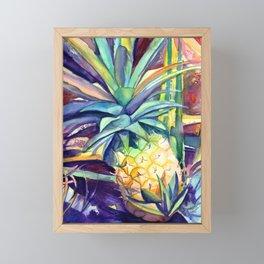 Kauai Pineapple 4 Framed Mini Art Print