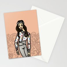 the power of 5. four Stationery Cards
