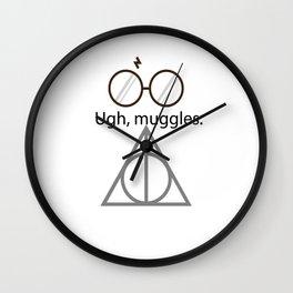 Ugh, muggles. Wall Clock