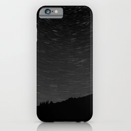 Rotating Startrails iPhone Case
