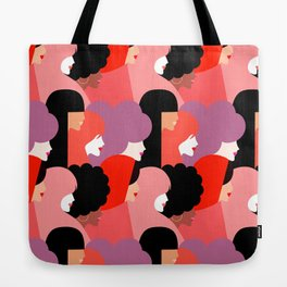 Together Girl Power - Pattern #girlpower Tote Bag