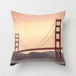 Golden Gate Bridge (San Francisco, CA) Throw Pillow