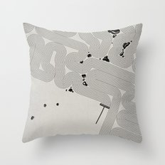 Zen Garden. Throw Pillow