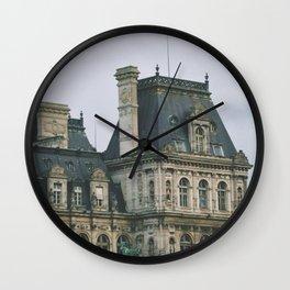 Hotel de Ville, Paris Wall Clock