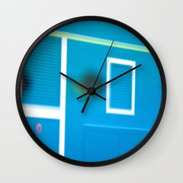 This Side of Morning at the Beach Shack Wall Clock