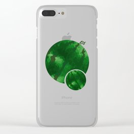 Double Watermelon Tet Holiday Vietnam Lunar New Year Clear iPhone Case