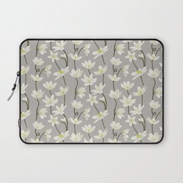 Anemone - Grey Laptop Sleeve