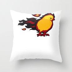 Firechicken Throw Pillow