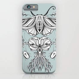 Black Mirror - Moss iPhone Case
