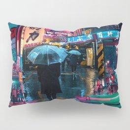 Japan street night Pillow Sham