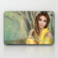 belle iPad Cases featuring Belle by MartaDeWinter