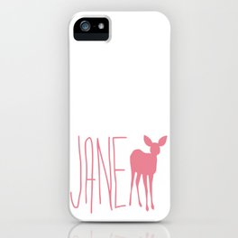 Life is Strange JANE Doe iPhone Case
