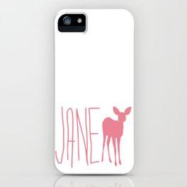 Life is Strange JANE Doe iPhone Case