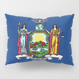 Fancy Flag:  New York Pillow Sham