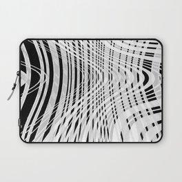 curvy barcode Laptop Sleeve
