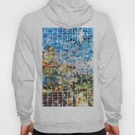 Modern Geometrical Colorful Squares - Art By Sharon Cummings Hoody