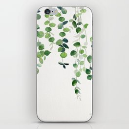 Eucalyptus Watercolor 2  iPhone Skin