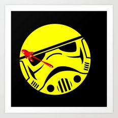 who watches the Empire Art Print