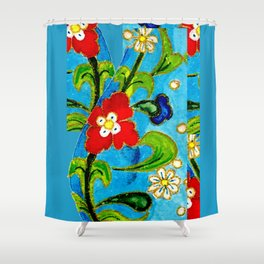 Genie Enamel II Shower Curtain