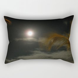 Blury Maui Moon Rectangular Pillow