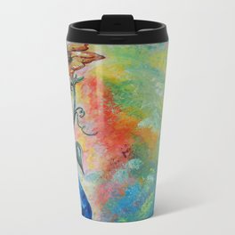One Solitary Flower Travel Mug