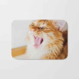 Cat by Alan Chen Bath Mat