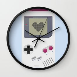 Game boy poster Wall Clock