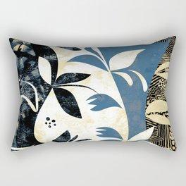 Climbing Plants Rectangular Pillow