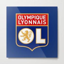 Olympique Lyonnais Metal Print