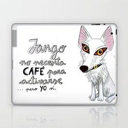 Jango, el podenquito blanco Laptop & iPad Skin