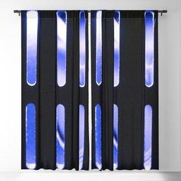 Blue Radiator Blackout Curtain