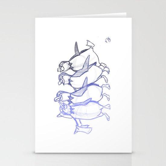 Jolly Holiday Stationery Cards