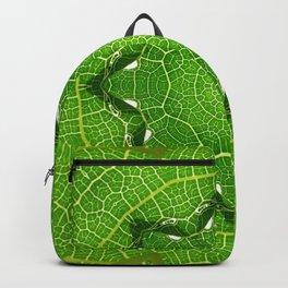 kaleidoscope image of leaf Backpack
