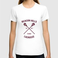 stiles stilinski T-shirts featuring Beacon Hills Teen Wolf Stilinski by denise
