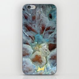 Crystal Cross Section 2 iPhone Skin
