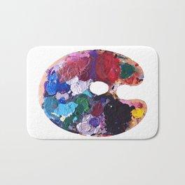 Paint  Bath Mat