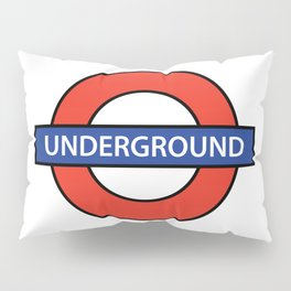 London Underground Pillow Sham