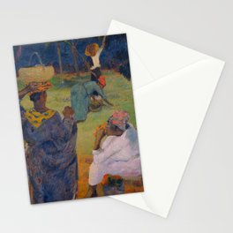 """Paul Gauguin """" Among the mangoes at Martinique"""" Stationery Cards"""