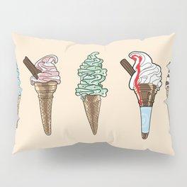 ice cream selection Pillow Sham