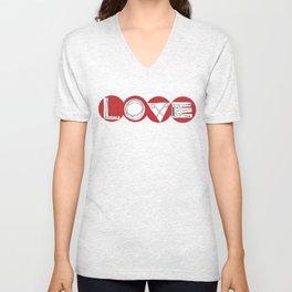 LOVE TOKE Unisex V-Neck