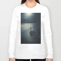 boys Long Sleeve T-shirts featuring Rude boys II by HappyMelvin