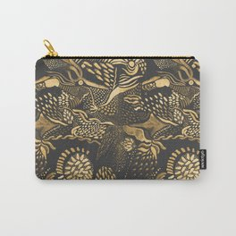 golden birds in the paisley forrest Carry-All Pouch