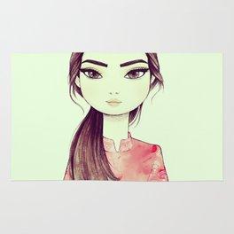 Japan Girl Rug